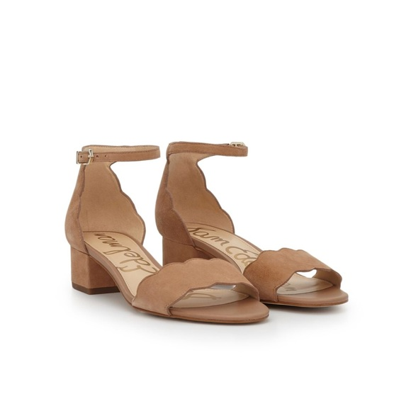 2ef5a38ee856 SE Inara Scalloped Block Heel Sandal